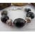 Hubei Turquoise and Pewter Bead Chunky Bracelet