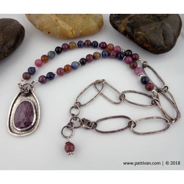 Sapphire Gemstone Necklace